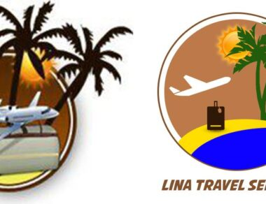 Lina Travel Re Branding Logo